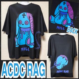 エーシーディーシーラグ(ACDC RAG)の【新品/ACDC RAG】バニードールプリントT/ミル(Tシャツ(半袖/袖なし))