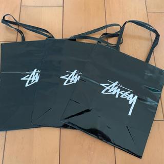 ステューシー(STUSSY)のStussy ショッピング 紙袋 3枚(ショップ袋)