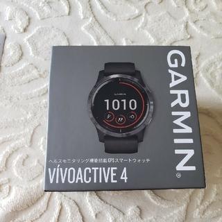 GARMIN - GARMIN VIVOACTIVE 4 BLACK