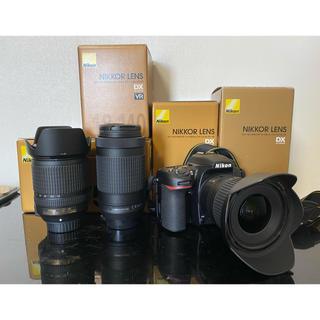 Nikon - Nikon D7500 標準 望遠 広角トリプルレンズ 極上美個体