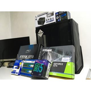 【ゲーミングPC】Core i5 x GTX 1660【新品】(デスクトップ型PC)