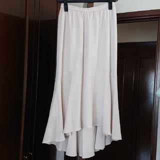エニィスィス(anySiS)の【新品】any sis フィッシュテール スカート(ロングスカート)