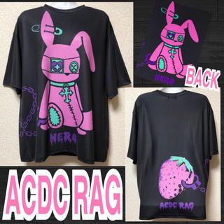 エーシーディーシーラグ(ACDC RAG)の【新品/ACDC RAG】バニードールプリントT/ネロ(Tシャツ(半袖/袖なし))