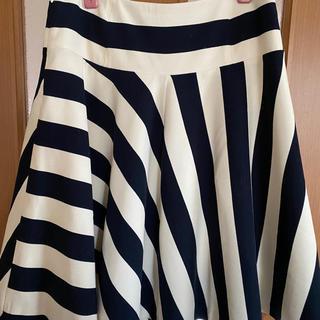 デミルクスビームス(Demi-Luxe BEAMS)のDemi-Luxe BEAMSフレアースカート(ひざ丈スカート)