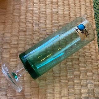 トウヨウササキガラス(東洋佐々木ガラス)のアデリア 脚付グラス グリーン 未使用デッドストック(グラス/カップ)