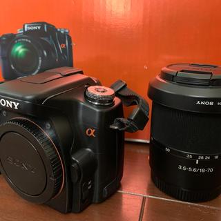SONY - SONY α100 標準レンズキット(DSLR-A100K)