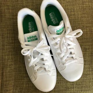 adidas - 美品★アディダス スニーカー 白 緑 26.5 メンズ
