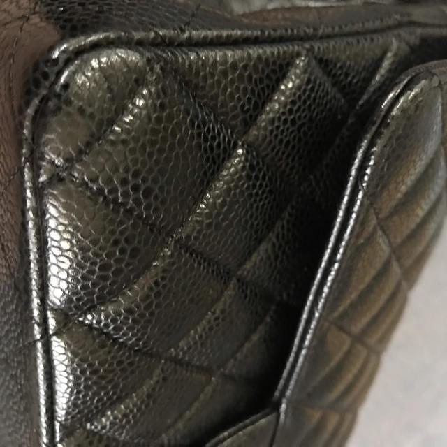 CHANEL(シャネル)の再お値下げ中!CHANELマトラッセチェーンバッグ キャビアスキン レディースのバッグ(ショルダーバッグ)の商品写真
