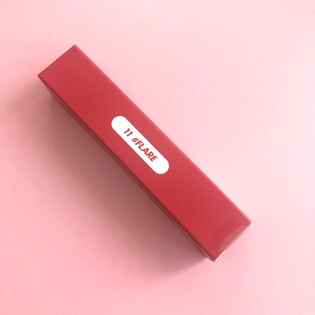 [ロムアンド] ゼロ ベルベットティント S/S #No11 Flare コスメ/美容のベースメイク/化粧品(口紅)の商品写真