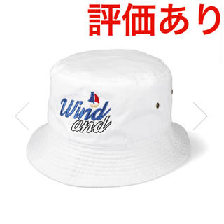Supreme - 【ホワイト】 WIND AND SEA セイル シー ボート バケットハット