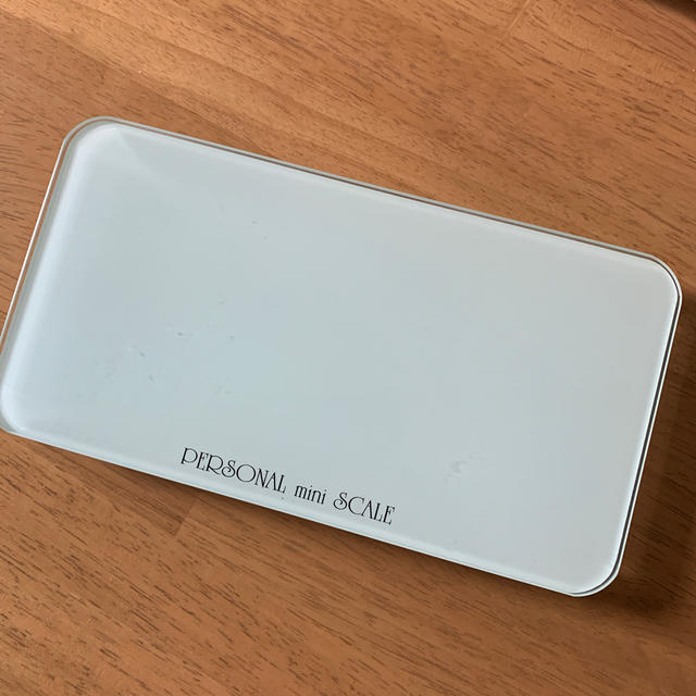 TANITA(タニタ)のミニ体重計 スマホ/家電/カメラの生活家電(体重計)の商品写真