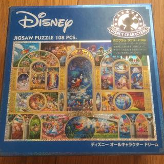 ディズニー(Disney)の108ピース ジグソーパズル ディズニー オールキャラクター ドリーム(その他)