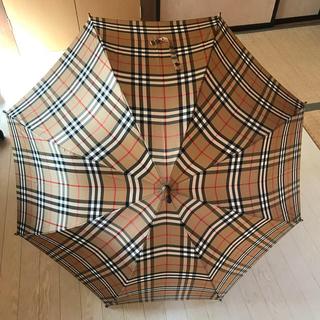 バーバリー(BURBERRY)のバーバリー ノマドチェック 雨傘(傘)