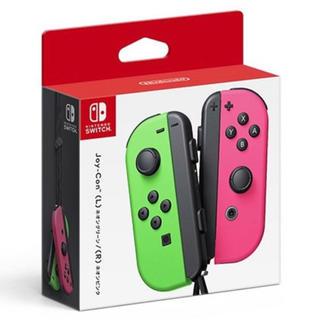 Nintendo Switch - 【新品】Joy-Con(L) ネオングリーン/(R) ネオンピンク