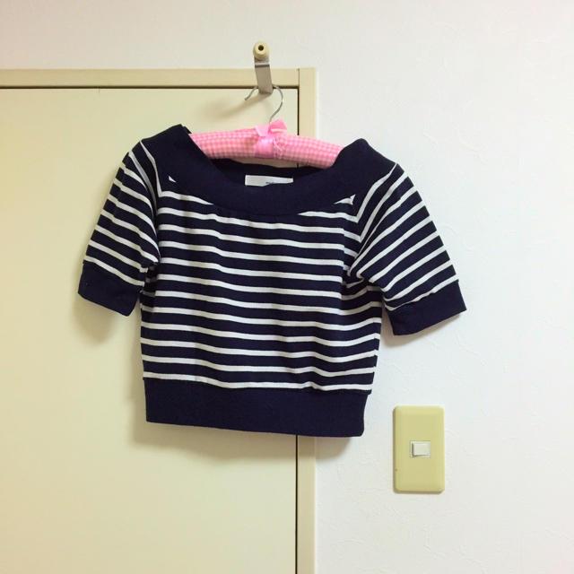 mysty woman(ミスティウーマン)のboardersweat レディースのトップス(Tシャツ(半袖/袖なし))の商品写真