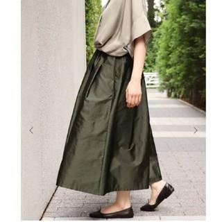 IENA - 新品タグ付き AIDAタフタギャザースカート