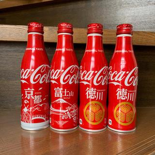 コカコーラ(コカ・コーラ)のコカ・コーラ スリムボトル セット 地域限定ボトル ご当地デザイン ご当地ボトル(ノベルティグッズ)