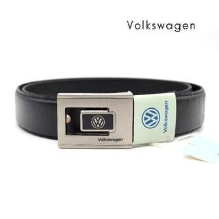 フォルクスワーゲン(Volkswagen)の《希少》Volkswagen ベルト ブラック トップ式 VW ビンテージ(ベルト)