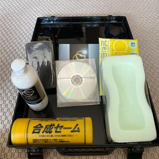 トヨタ(トヨタ)のヴェルファイア ガラスコートメンテナンスセット 黒(メンテナンス用品)