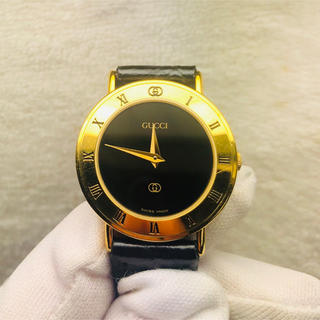 Gucci - 美品グッチ 3000L レディース腕時計