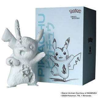 MEDICOM TOY - Daniel Arsham Blue Crystalized Pikachu