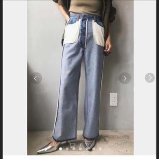 Ameri VINTAGE - ameri vintage デニム 購入前にコメントお願いします。