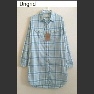 Ungrid - 【新品】Ungrid チェックシャツ フリーサイズ