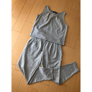 CECIL McBEE - CECIL McBEE セットアップ タンクトップ ズボン ストレッチ有り