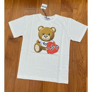モスキーノ(MOSCHINO)のモスキーノ キッズ ベアTシャツ 12a  新作(Tシャツ(半袖/袖なし))