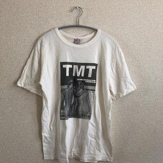 ティーエムティー(TMT)の最終処分価格!TMT ティーエムティー 木村拓哉 着用 フォトTシャツ 美品(Tシャツ/カットソー(半袖/袖なし))