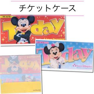 Disney - トゥデイケース チケットケース*ディズニー ミッキー&ミニー
