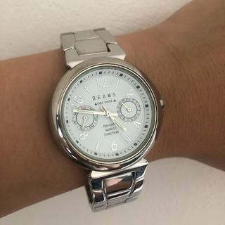 ビームス(BEAMS)の【電池無‼︎動作未確認】BEAMS メンズ 腕時計(腕時計(アナログ))