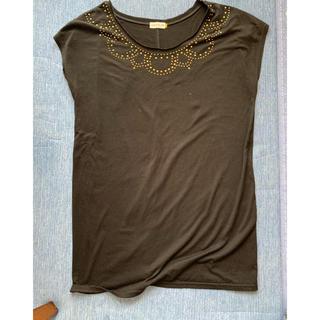 レプシィム(LEPSIM)のスタッズ付きTシャツ M(Tシャツ/カットソー(半袖/袖なし))