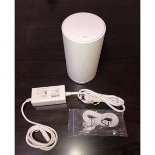 エーユー(au)のSpeed Wi-Fi HOME L01s HWS32SWA【送料無料】(PC周辺機器)