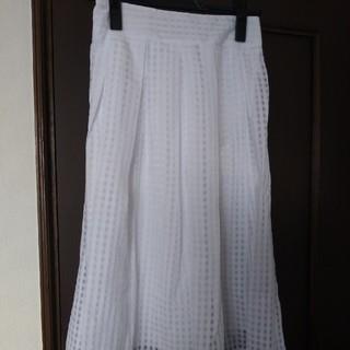 スリーフォータイム(ThreeFourTime)のthere for timeのスカート(ひざ丈スカート)