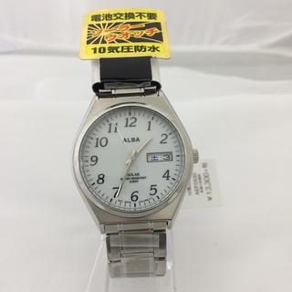 アルバ(ALBA)のセイコー アルバ ソーラー 10気圧防水 AEFD533 ALBA(腕時計(アナログ))