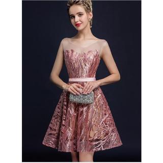 ザラ(ZARA)の343-1花嫁ドレス パーティードレス 二次会ドレス ショートドレス (ナイトドレス)