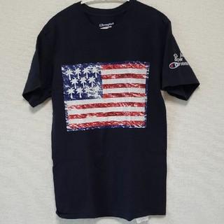 Champion - チャンピオン Champion ゴースローキャラバン Tシャツ ネイビー