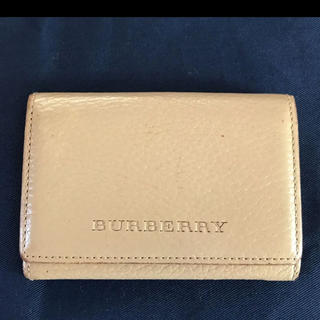 バーバリー(BURBERRY)のバーバリー 名刺入れ カードケース(名刺入れ/定期入れ)