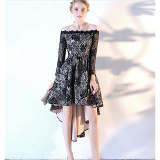 ザラ(ZARA)の342-1パーティードレス 二次会ドレス ショートドレス イブニングドレス キ(ナイトドレス)