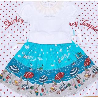 Shirley Temple - 新品 シャーリーテンプトップス+スカートセット