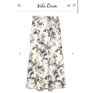 Mila Owen - 《新品、タグ付き》ポケット付セミフレアスカート