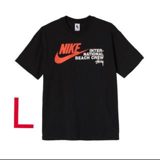 ステューシー(STUSSY)のNIKE STUSSY Tシャツ Lサイズ ナイキ ストゥシー(Tシャツ/カットソー(半袖/袖なし))