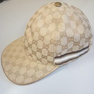 Gucci - グッチ キャップ ベースボール ベージュ XL