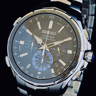 SEIKO - ◆大感謝セール◆ セイコー 新品 メンズ 腕時計 コーチュラ 電波ソーラー 即納