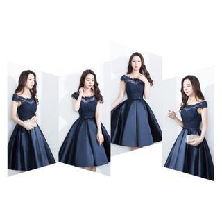 ザラ(ZARA)の339-1花嫁ドレス パーティードレス 二次会ドレス ショートドレス イブニング(ナイトドレス)