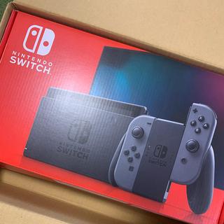 Nintendo Switch - 新型Nintendo Switch Joy-Con(L)/(R) グレー本体