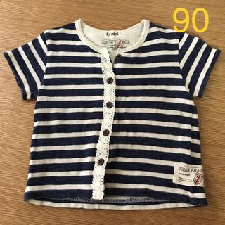 ターカーミニ(t/mini)の女の子 トップス Tシャツ ターカーミニ 90センチ(Tシャツ/カットソー)