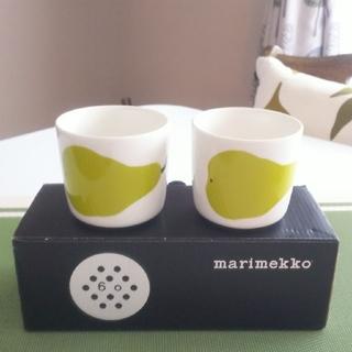 marimekko - 【限定・新品】marimekkoマリメッコパーリナ洋なしマグ