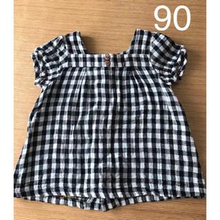 ターカーミニ(t/mini)の女の子 トップス チュニック 90センチ(Tシャツ/カットソー)
